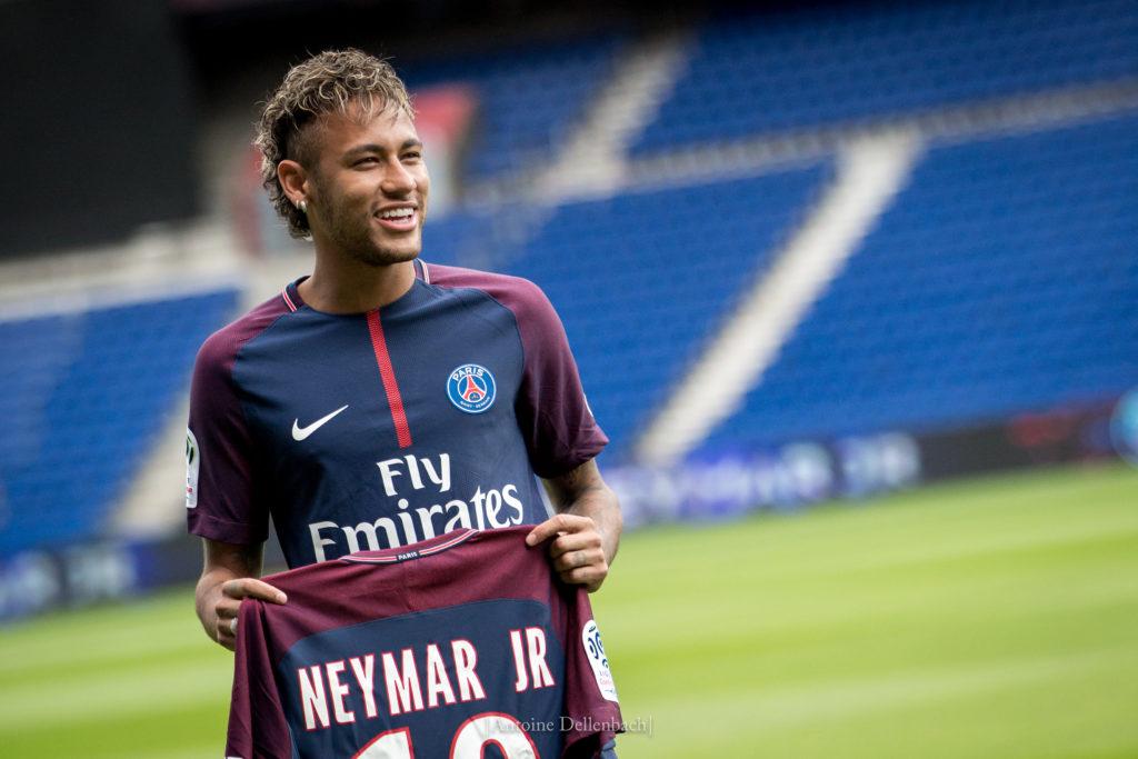Neymar, le footballeur le plus cher au monde