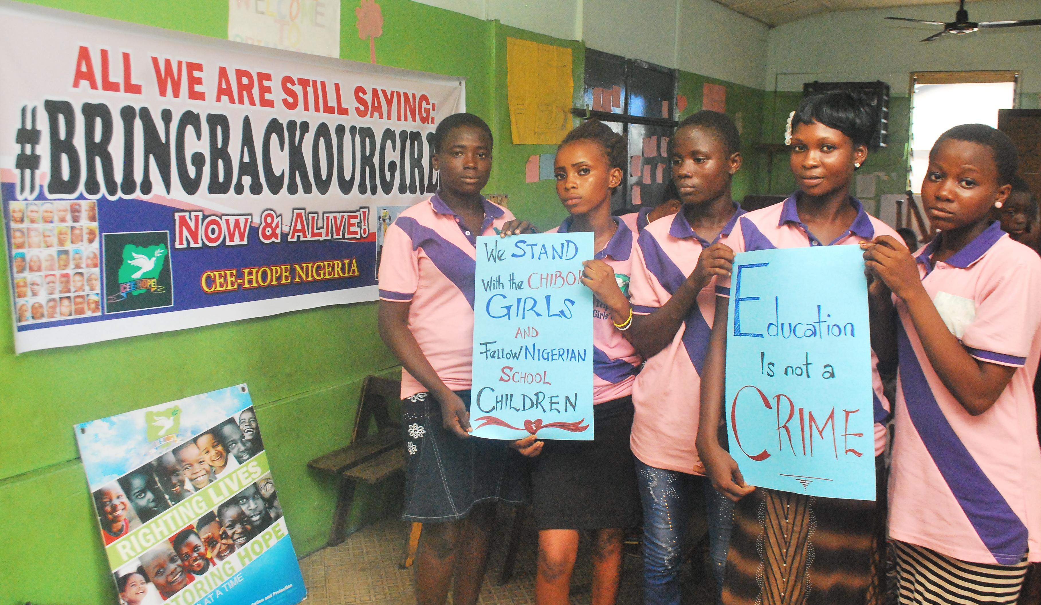 libérez les lycéennes de chibok
