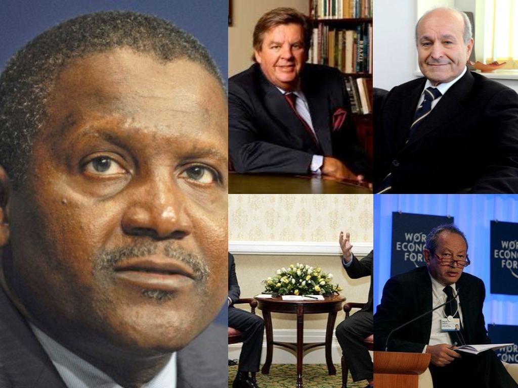 les africains les plus riches