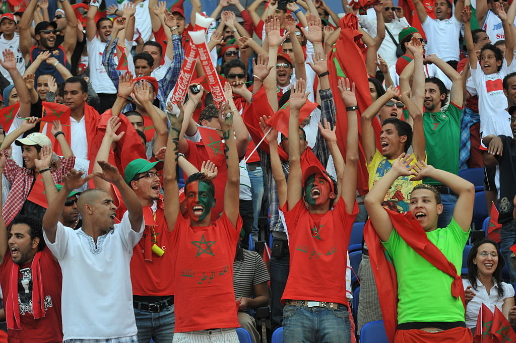 maroc supporters
