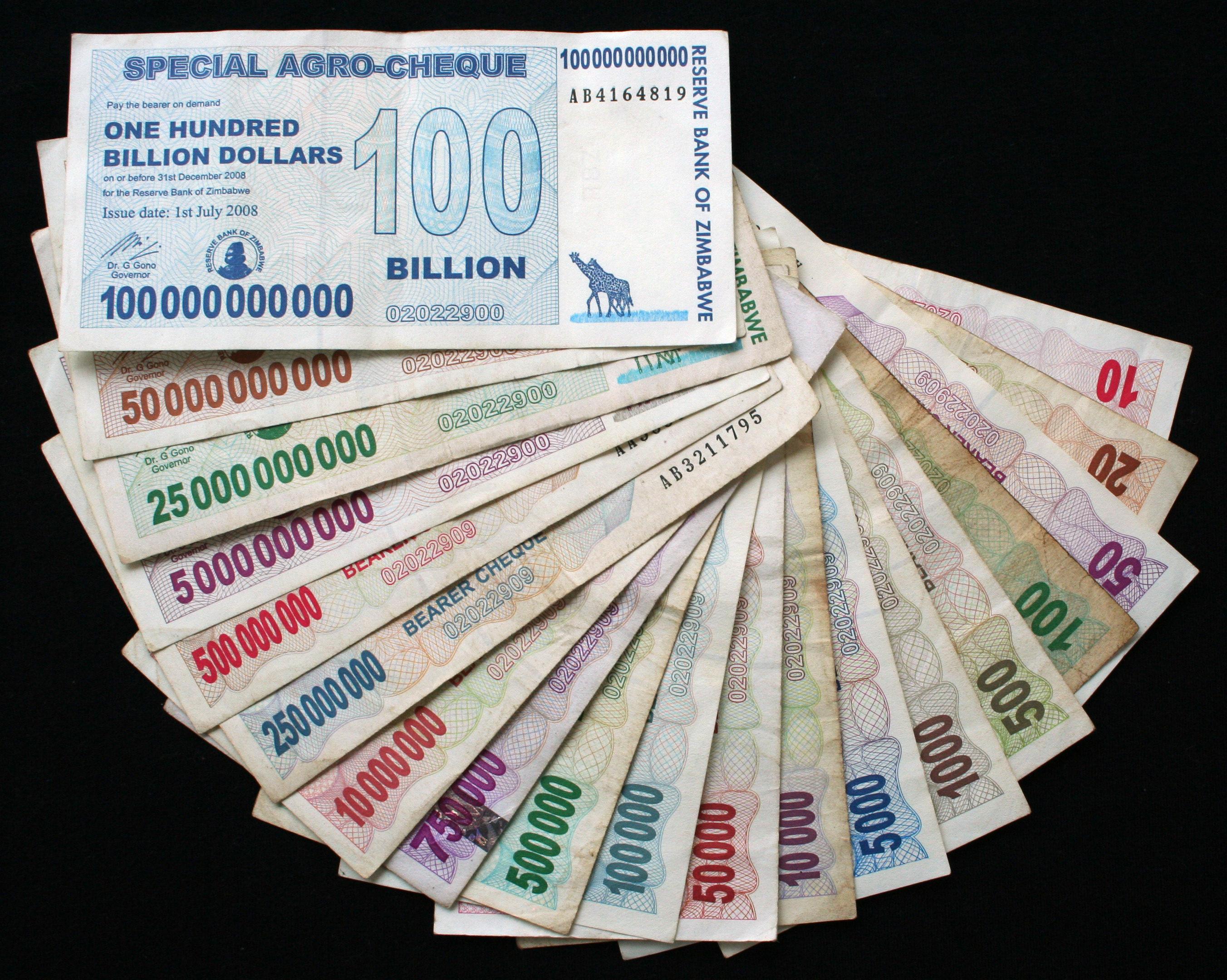 monnaie africaine zimbabwe