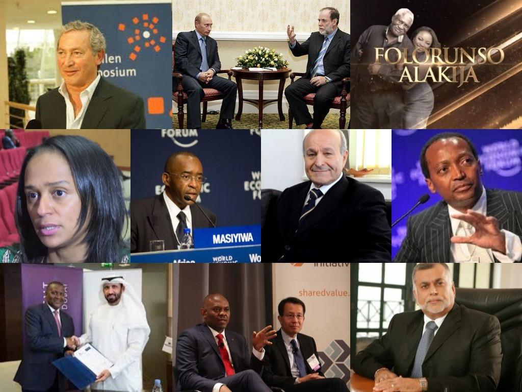 Les hommes les plus riches afrique