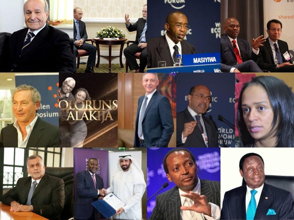 les 50 hommes les plus riches d'Afrique