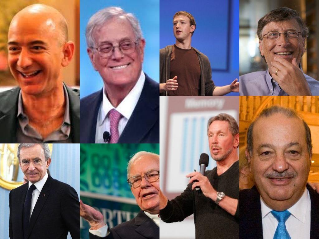 les 30 hommes les plus riches du monde 2018