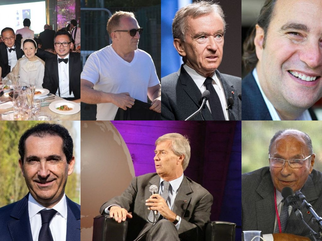 les 20 français les plus riches en 2018