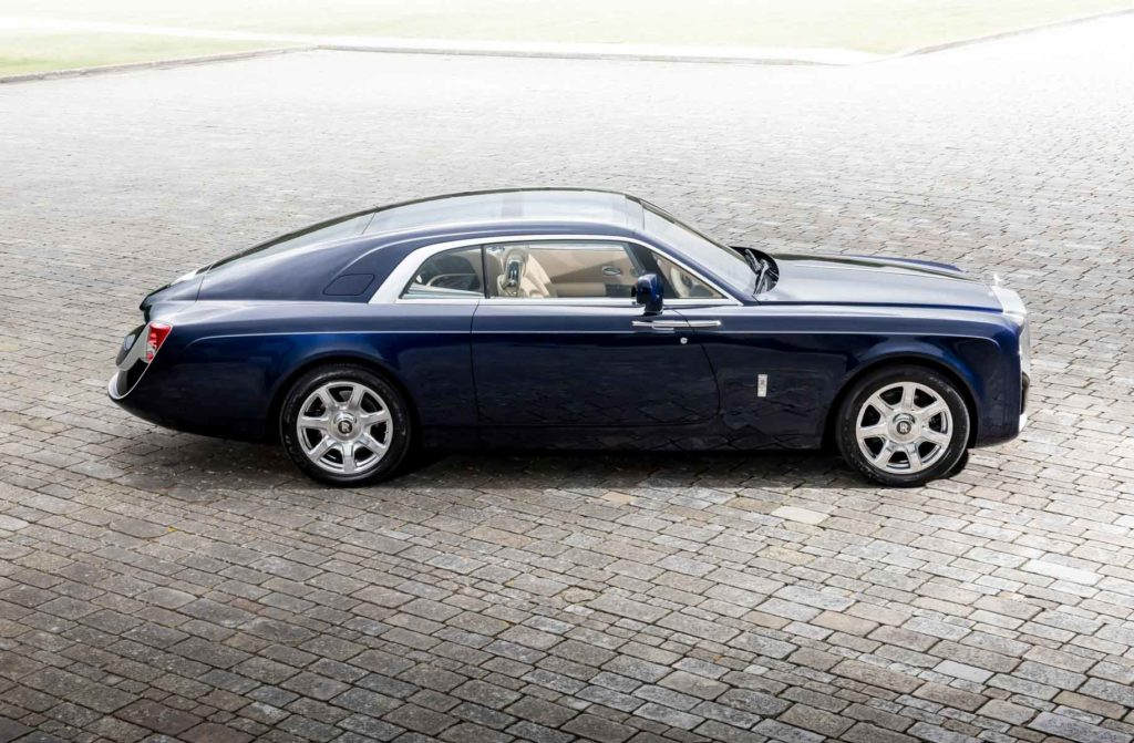 Rolls-Royce-Sweptail, voiture la plu chère du monde