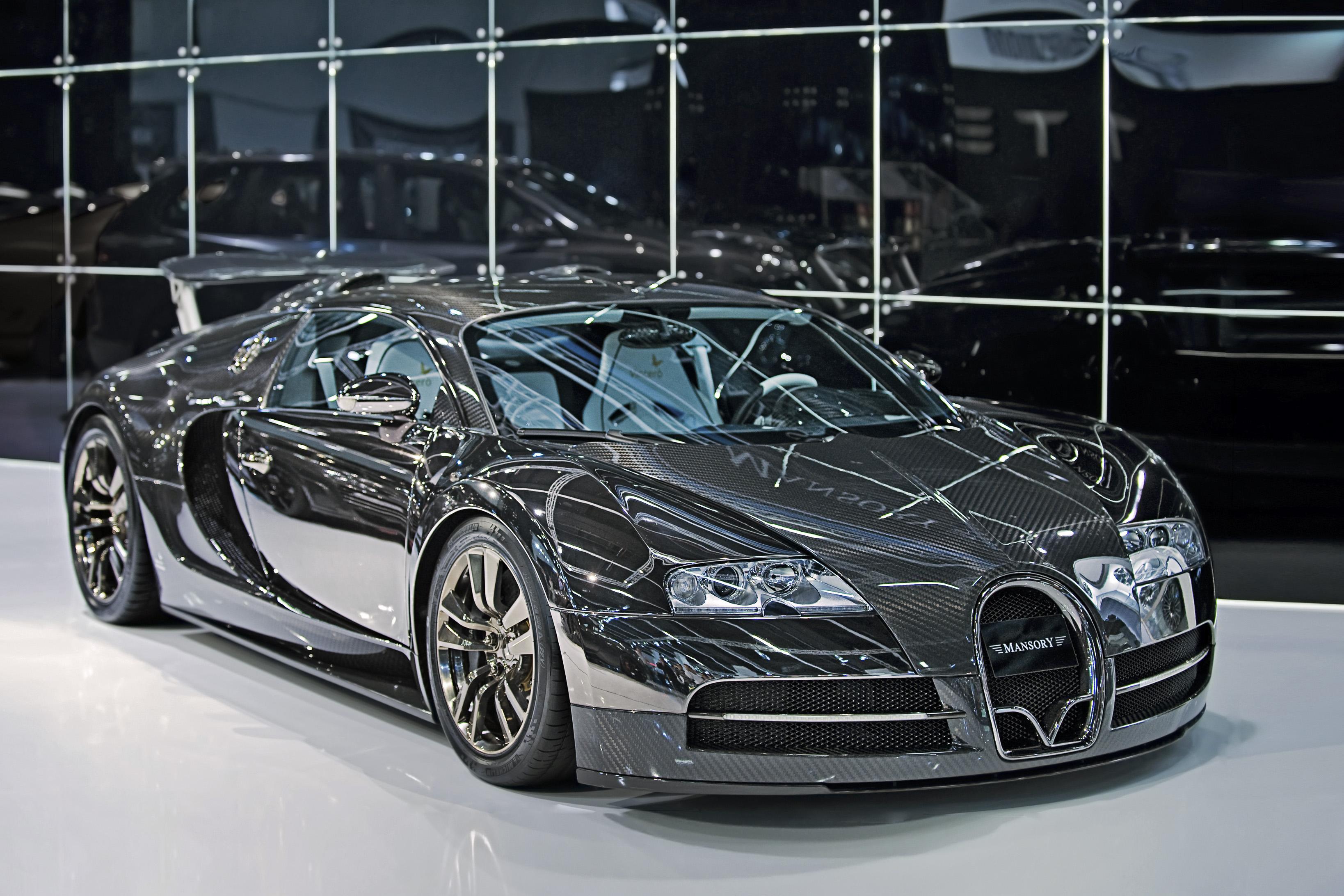 Bugatti Veyron par Mansory Vivere