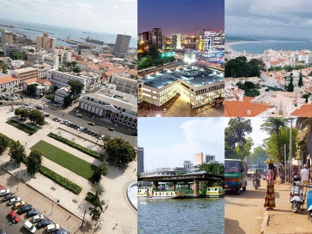 Les plus grandes villes de l'Afrique de l'ouest