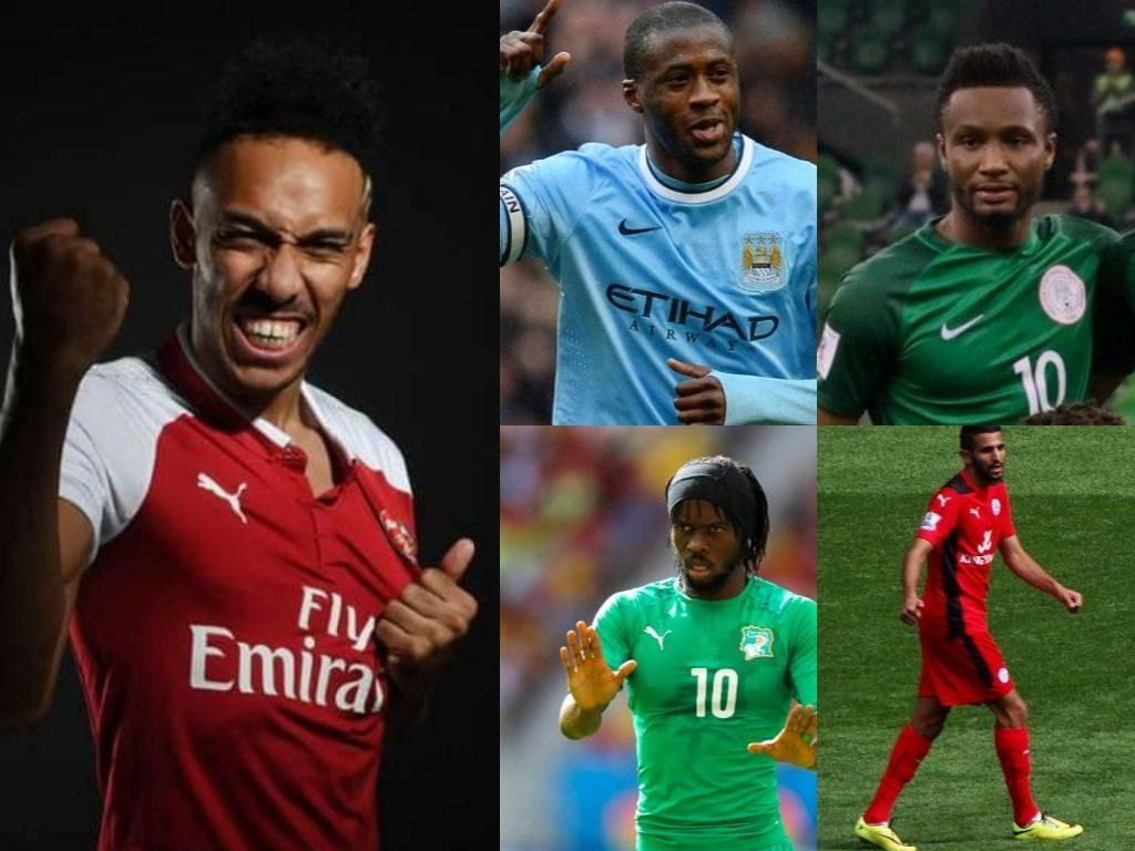 les joueurs africains les mieux payés en 2018