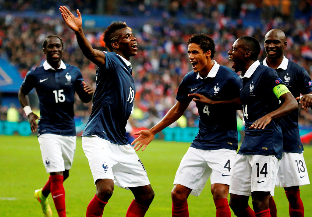 paul pogba equipe de france coupe du monde