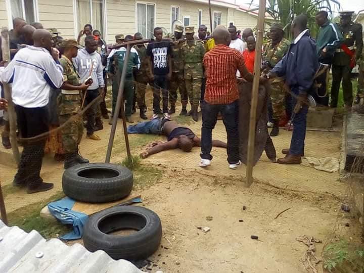 zambie militaire qui se suicide