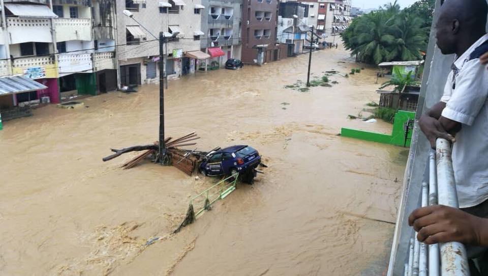 inondations abidjan