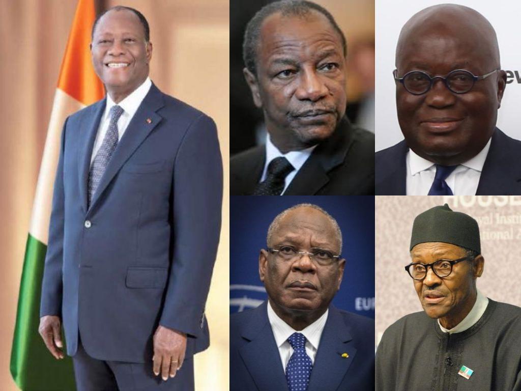 présidents les mieux payés en Afrique de l'ouest
