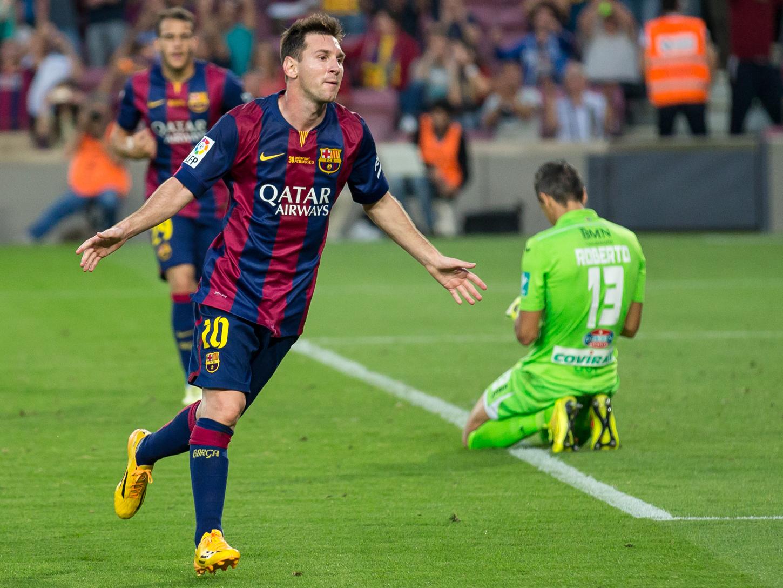 Leo messi, joueur le mieux payé au fc barcelone