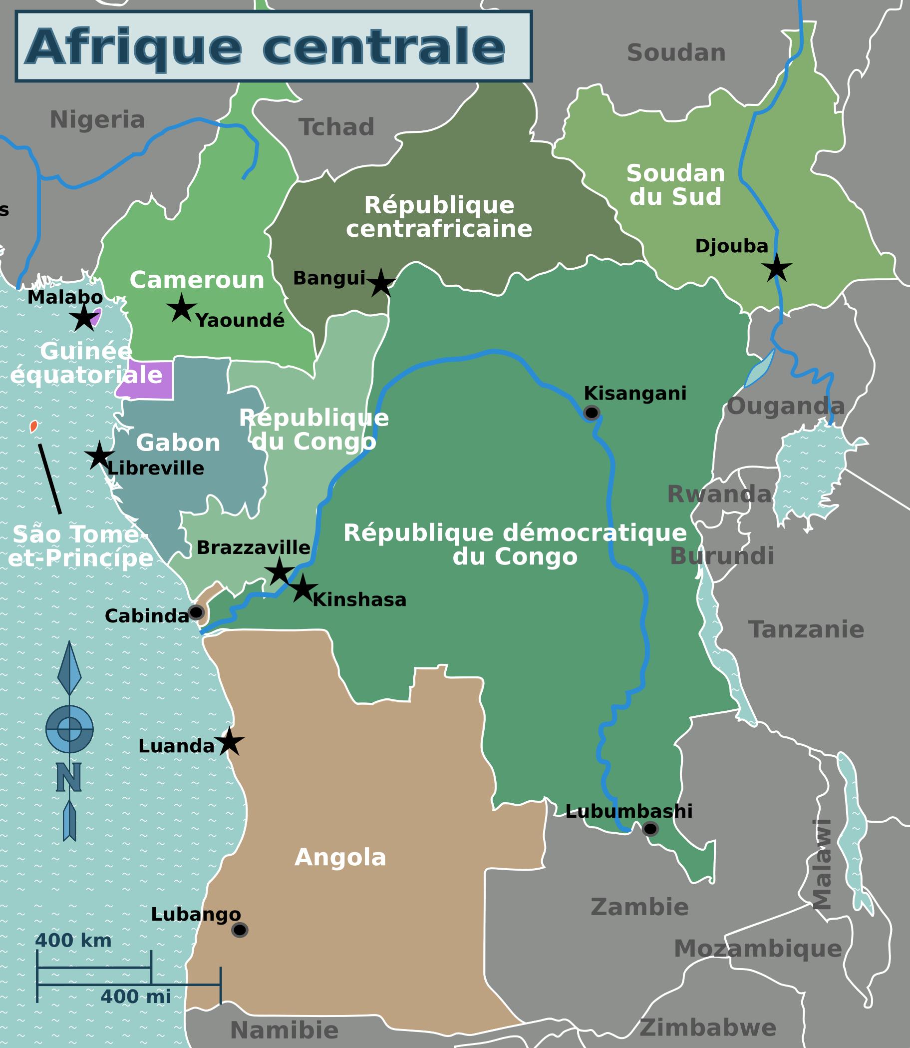 afrique centrale classement PIB