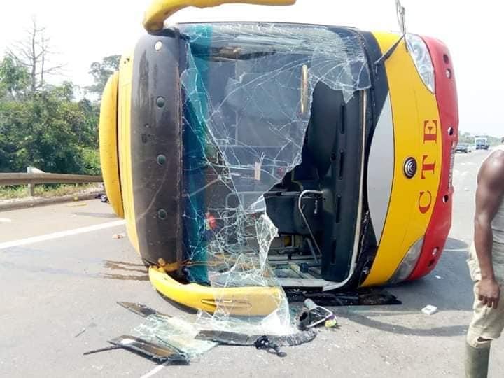 accident car de transport cote d'ivoire