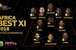 CAF AWARDS NABY KEITA 11 africain de l'année caf