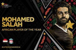 Mohamed salah ballon d'or africain 2018