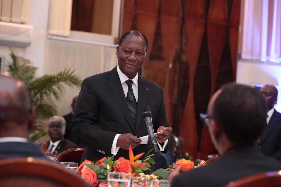 alassane ouattara discours du nouvel an