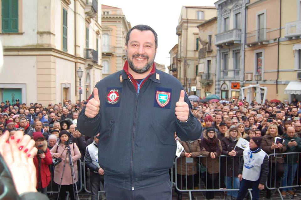 matteo salvini italie ministre
