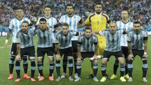 equipe d'argentine messi