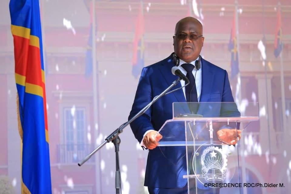 felix tshisekedi suspend l'installation des senateurs