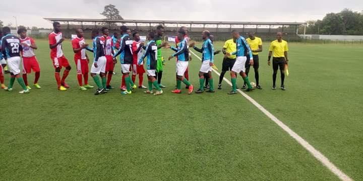 africa joue avec le maillot de gagnoa