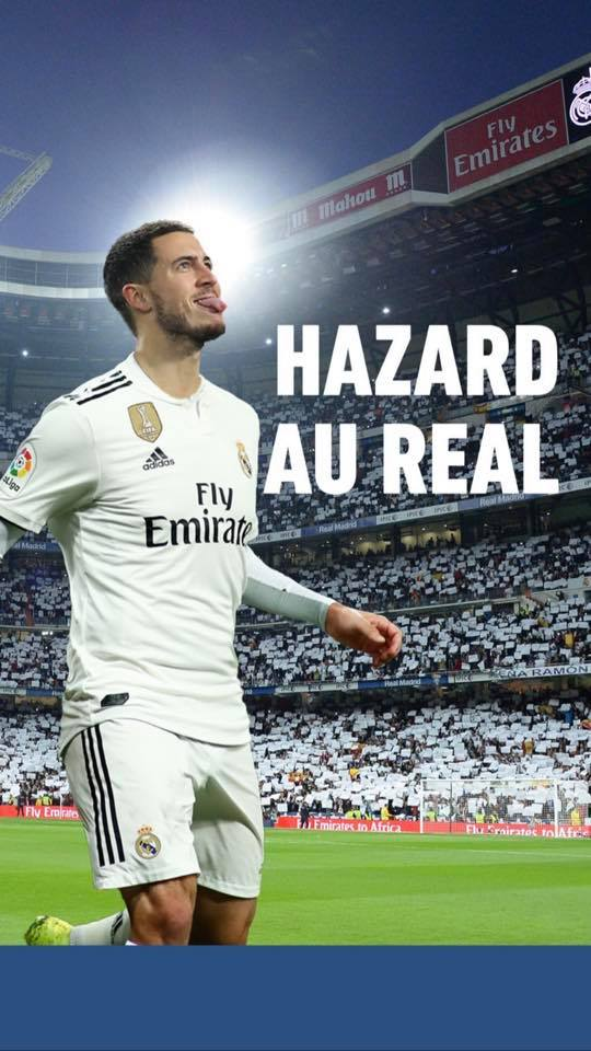 eden hazard signe au real madrid