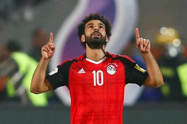 mohamed salah egypte CAN 2019