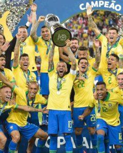copa america brésil vainqueur