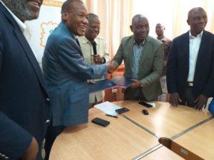 africa sports crise alexis vagba et bahi antoine présidents