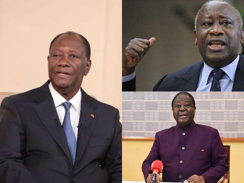 bédié gbagbo ouattara quittez la scène maintenant