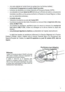 concours recrutement exceptionnel journaliers 2