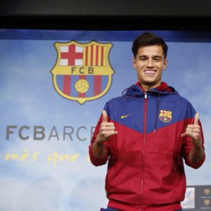 coutinho quitte le fc barcelone
