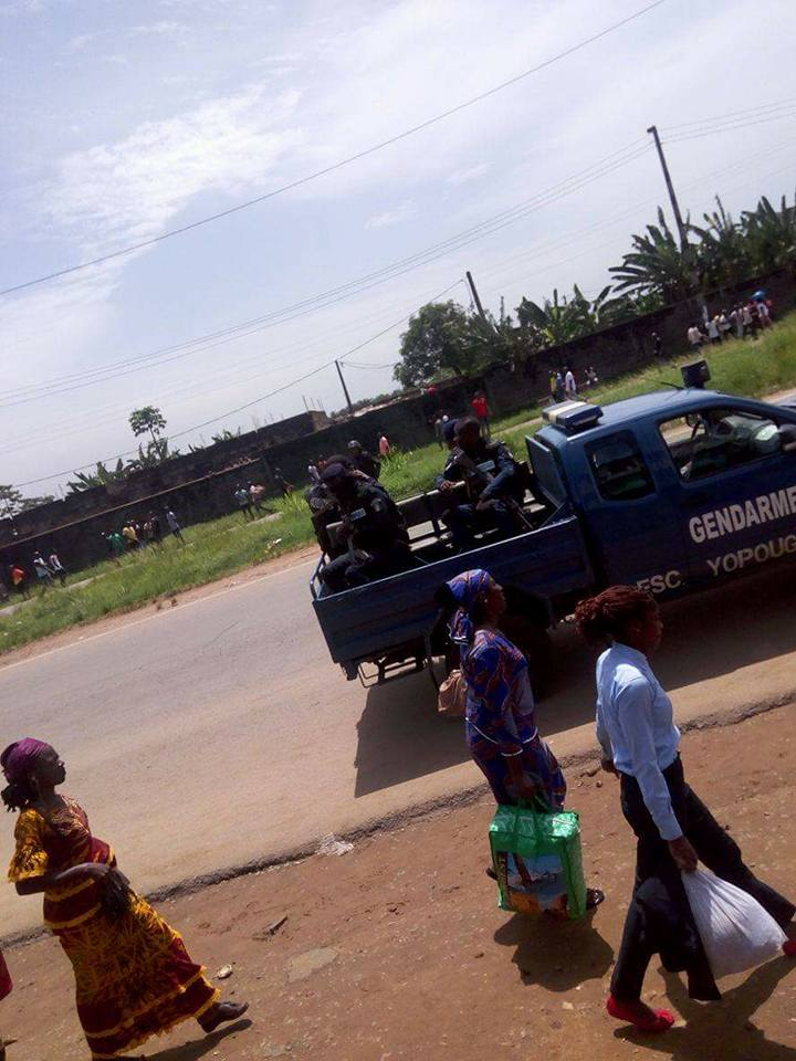 gendarme tué à yopougon