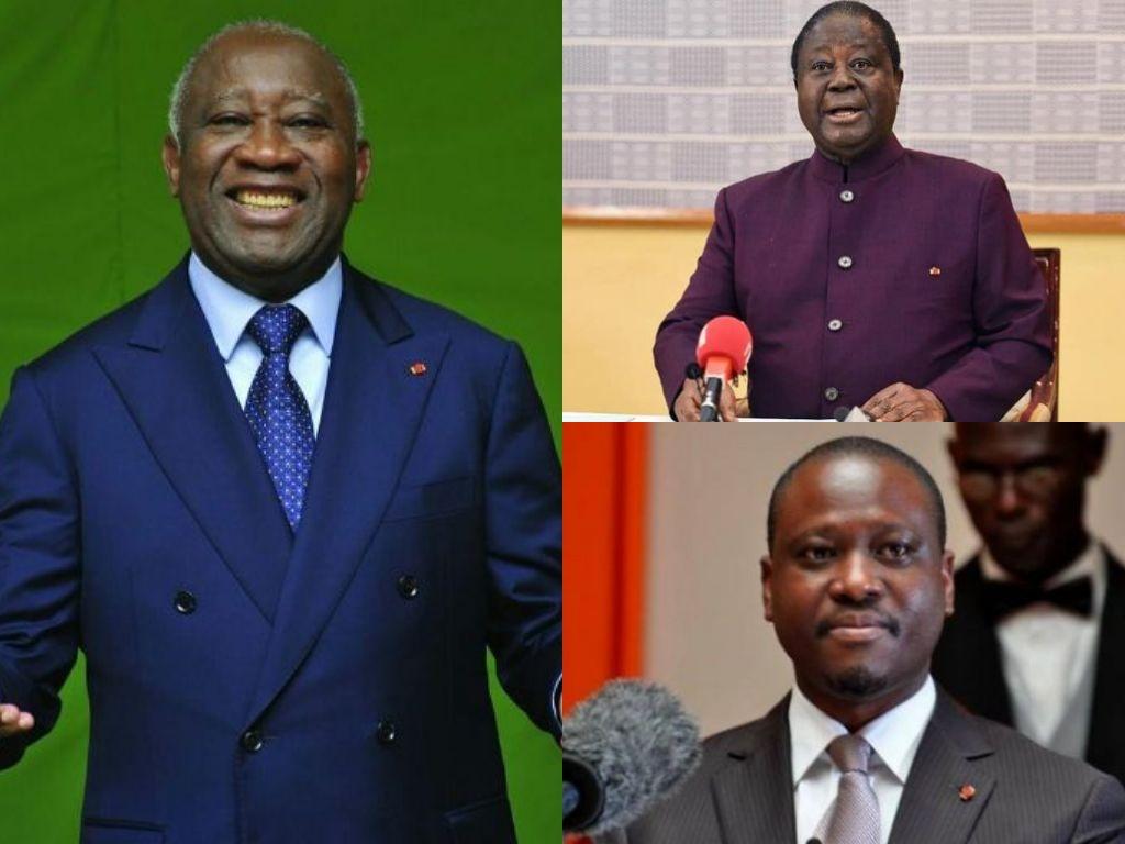plateforme opposition ivoirienne alliance Gbagbo bédié