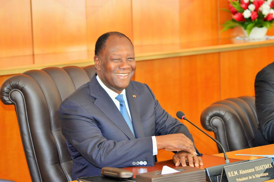 ouattara s'excuse promesse non tenu transfert capitale yakro
