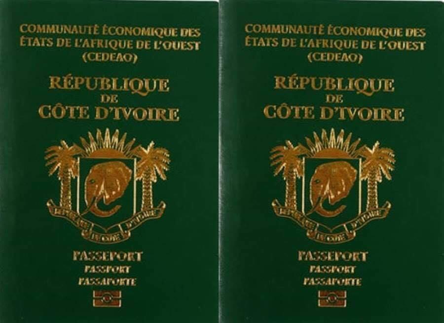 passeport biométrique CI
