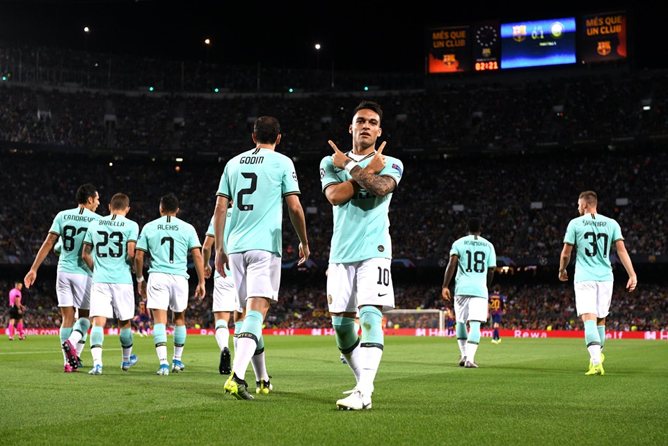 barcelone inter milan