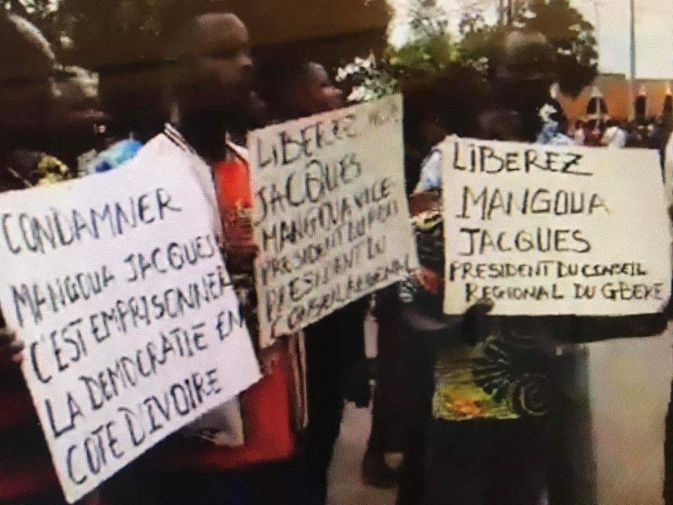 condamnation jacques mangoua