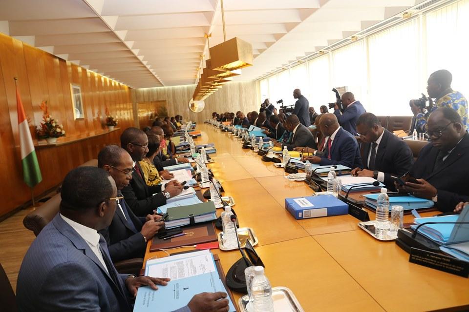 conseil des ministres 09 octobre
