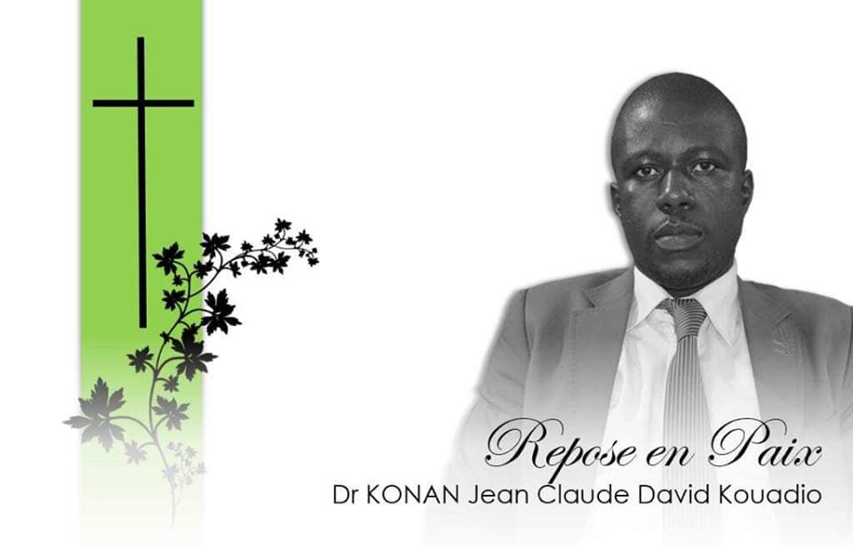 deces jean claude david kouadio