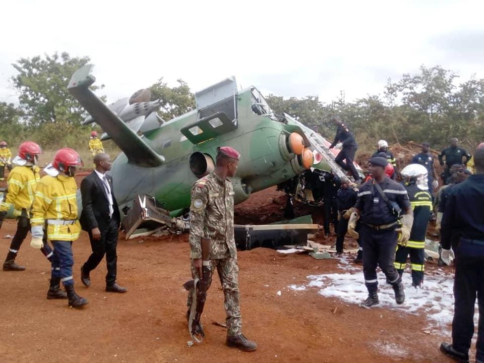 crash d'un hélicoptère a katiola en Côte d'Ivoire causes