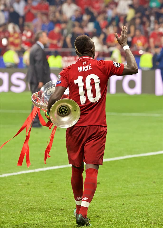 sadio mané ballon d'or africain 2019