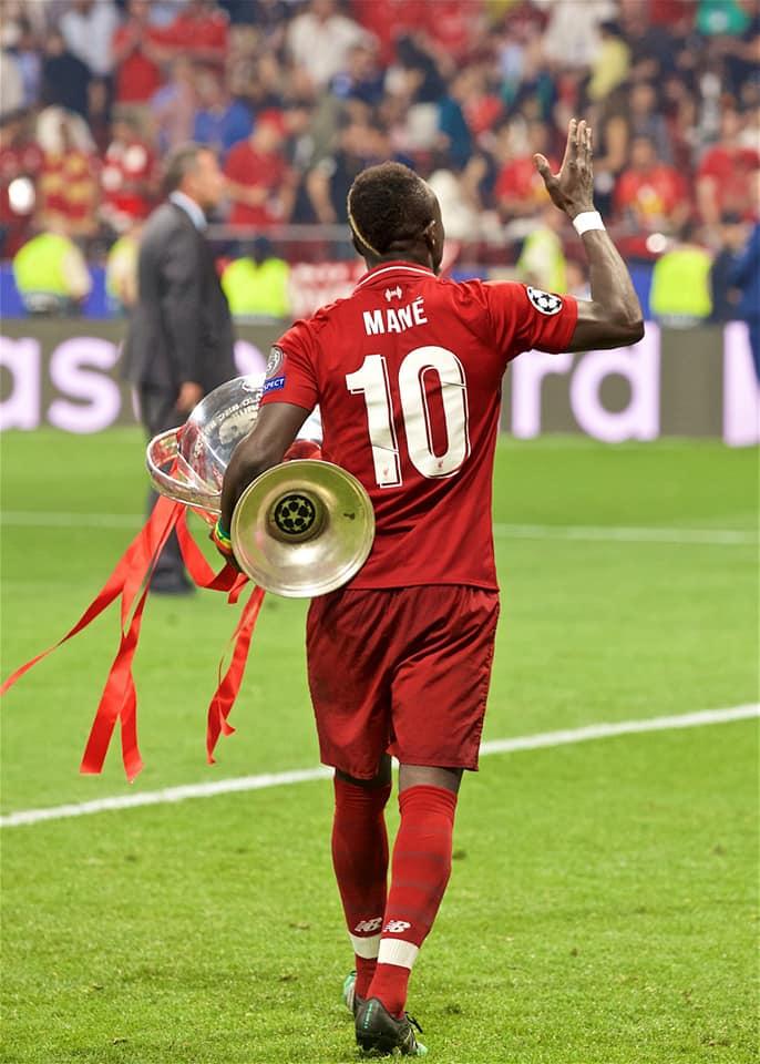 sadio mané ballon d'or africain 2019