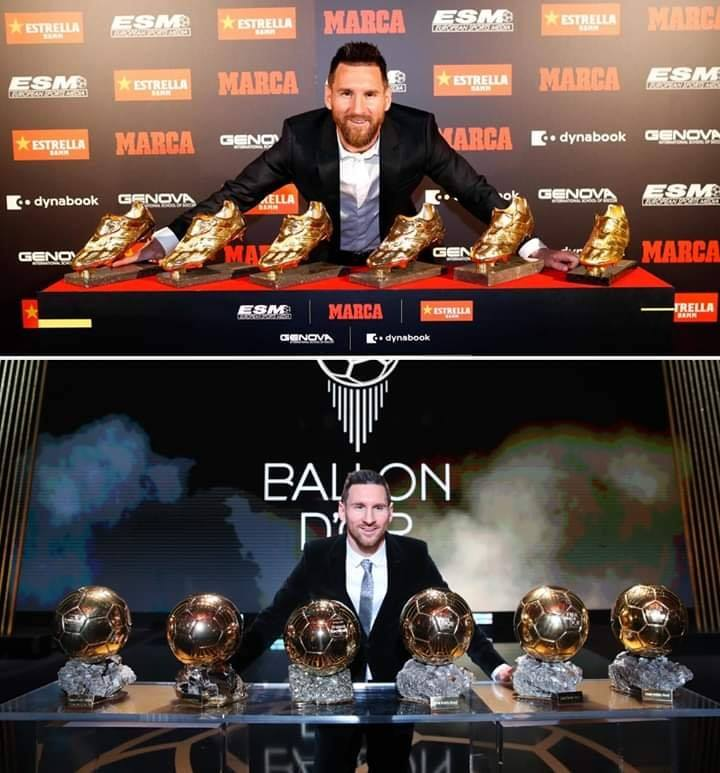 ballon d'or messi a battu van dijk de 7 points