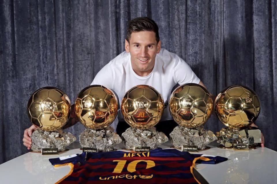 lionel messi vainqueur ballon d'or 2019