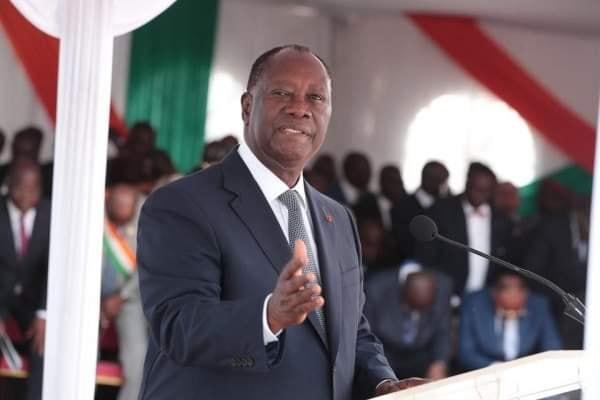 ouattara alassane felicité par un internaute camerounais