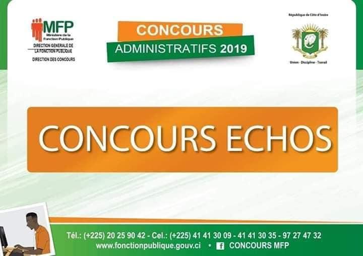 concours fonction publique 2019 resultats