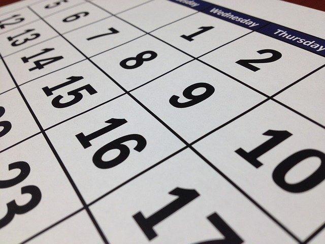 calendrier concours fonction publique 2020